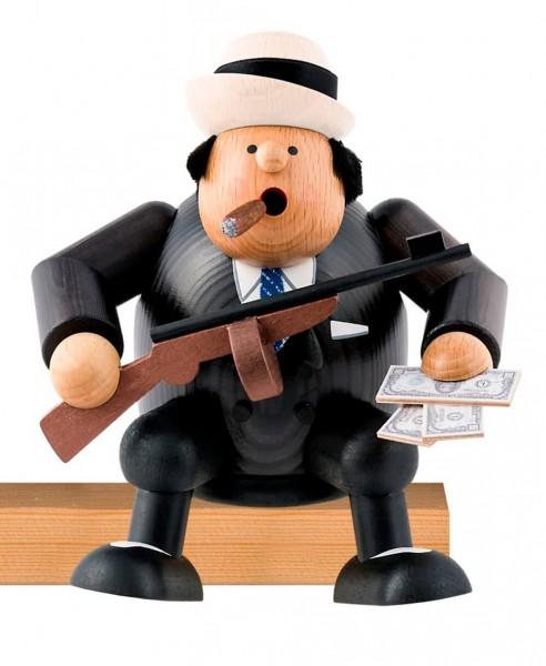 Räuchermännchen Kantenhocker Al Capone, 15 cm von KWO