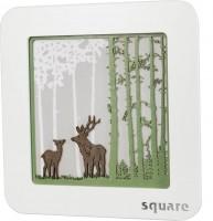 Vorschau: Weigla LED Wandbild Square Wald, 29 cm_Bild2