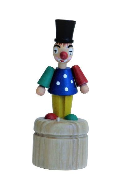 Wackelfigur Clown von Nestler-Seiffen_Bild1