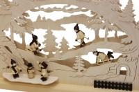 Vorschau: Schwibbogen von Romy Thiel mit dem Motiv Winterlandschaft, 63 cm _Bild4