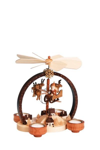 Knuth Neuber, Weihnachtspyramide Weihnachtszauber, natur