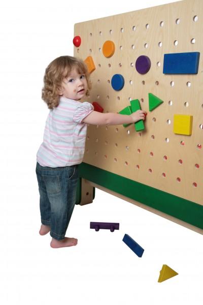 Das große Wand - Steckspiel von SINA Spielzeug Neuhausen/Erzgebirge, vertreibt Langeweile in handumdrehen. Super geeignet für Kindereinrichtungen und …