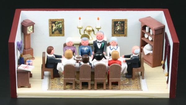Miniaturstübchen Goldene Hochzeitsstube von Gunter Flath aus Seiffen / Erzgebirge Detailgetreue Nachbildung einer Goldene Hochzeitsstube aus früheren Zeiten. …
