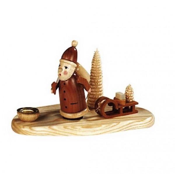 Knuth Neuber, Kerzenhalter Weihnachtsmann, natur