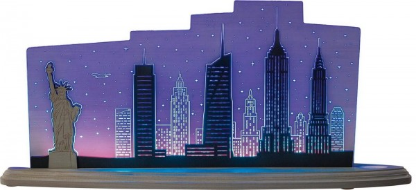 Weigla LED Motivleuchte New York