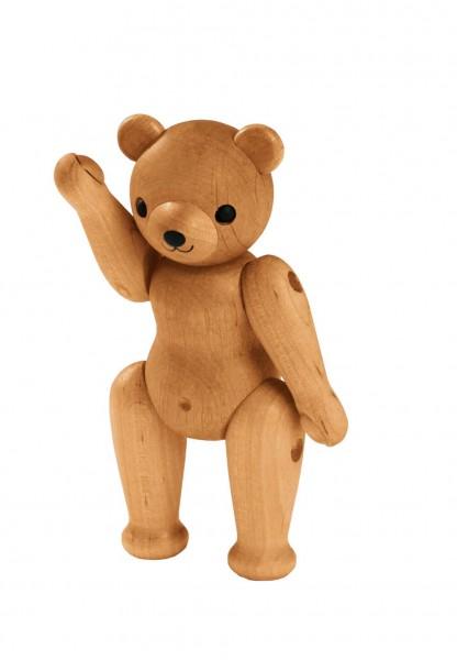 kleiner Teddy aus Holz Erzgebirge Spielzeug