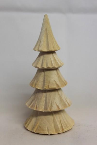 Baum, geschnitzt, 5 - reihig von Romy Thiel