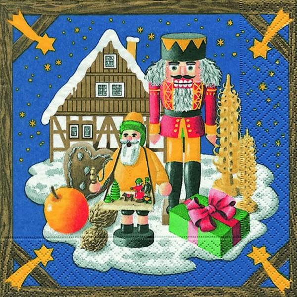 Weihnachtsservietten Weihnachtsland von Home Fashion®