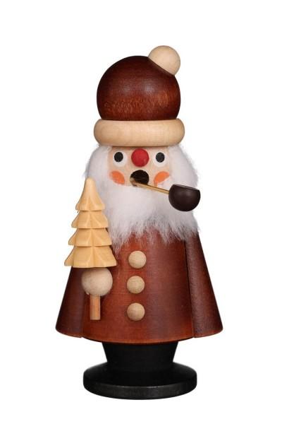 Räuchermännchen Weihnachtsmann, natur, 11 cm von Christian Ulbricht GmbH & Co KG Seiffen/ Erzgebirge