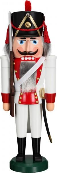 Nussknacker Grenadier, rot, 39 cm von Seiffener Volkskunst eG