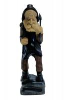 Vorschau: Holzmichel, geschnitzt, 28 cm von Nestler-Seiffen_Bild1