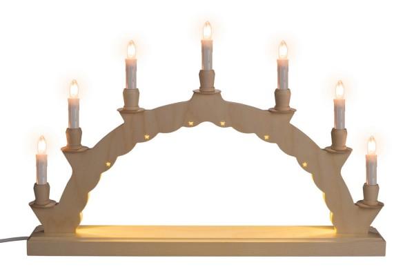 LED Schwibbogen & Leerbogen mit indirekter Beleuchtung, (110 - 230 V), 50 x 28 cm, Nestler-Seiffen.com OHG Seiffen/ Erzgebirge