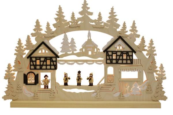 Schwibbogen von Romy Thiel Seiffener Weihnacht, 62 cm_Bild1
