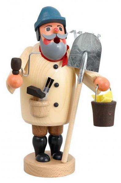 Räuchermännchen Hausmeister von Karl Werner Sayda / Erzgebirge An die Arbeit heißt es hier. So viele verschiedene Tätigkeiten die ein Hausmeister ausüben …