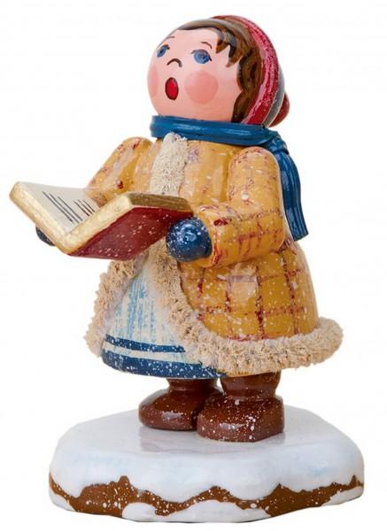 Winterkind Sternsinger - Johanna, 5 cm von Hubrig Volkskunst