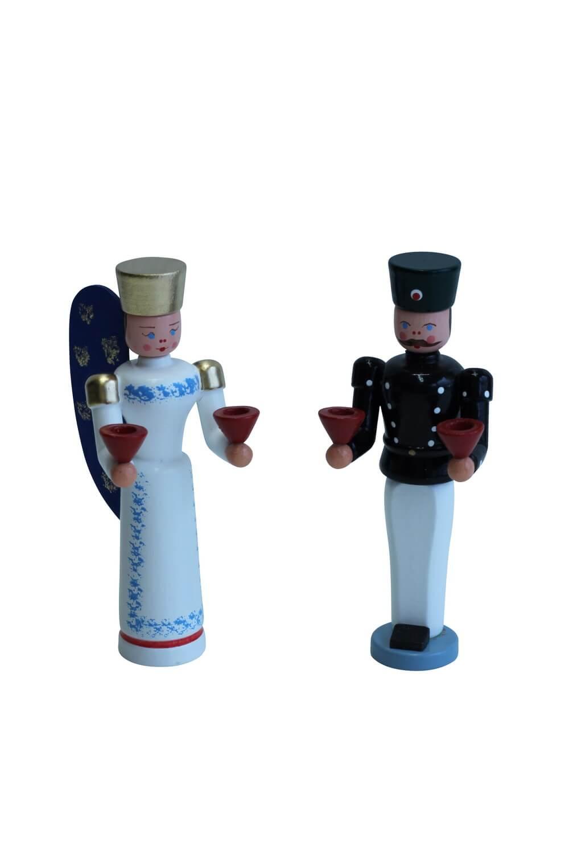 Engel und Bergmann von Nestler-Seiffen, 11 cm