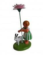 Vorschau: Blumenkind von WEHA-Kunst Mädchen mit Reifentier und Gänseblume_Bild3
