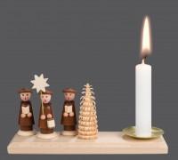 Vorschau: Weihnachtskerzenhalter von Nestler-Seiffen mit Kurrende _Bild3
