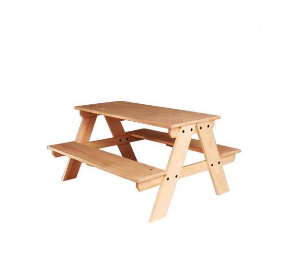 Diese tolle Picknickbank für Kinder lädt ein, zum Malen, Quatsch machen, Kakao trinken und kleine Krümelmonster. Sie bietet Platz für mindestens 4 Kinder und …