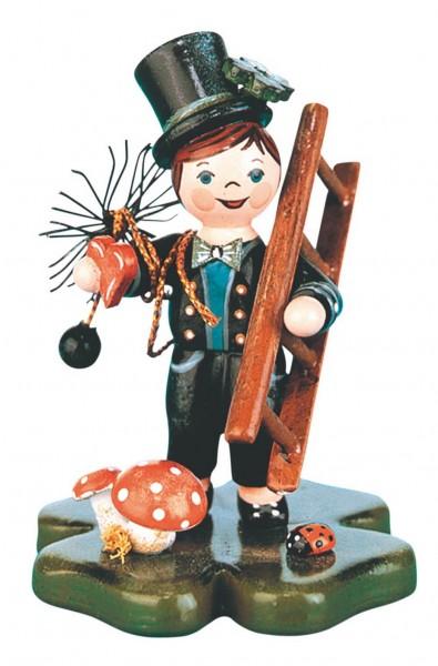 Schornsteinfeger Glückskind aus Holz von Hubrig