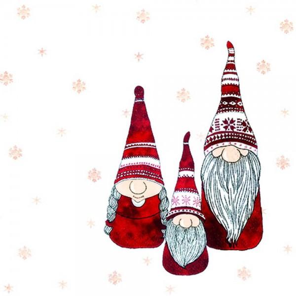 Weihnachtsservietten Tomte von Home Fashion®