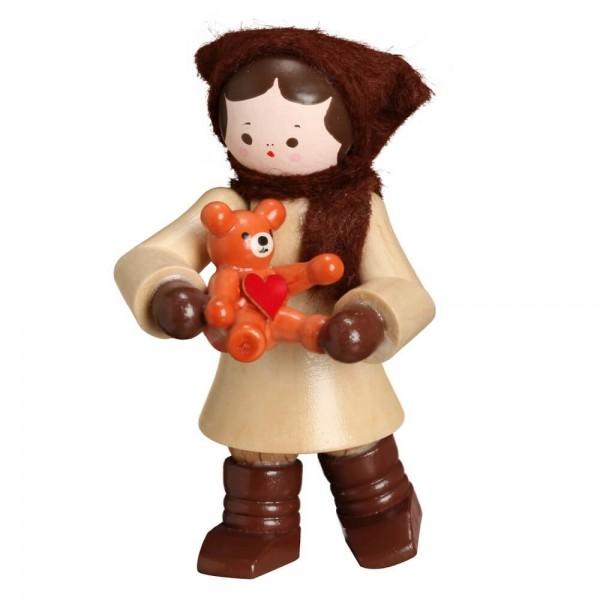 Das Winterkind Mädchen mit Teddy, Mein kleiner Freund in natur von Romy Thiel Deutschneudorf / Erzgebirge, gehört zu den begehrten Sammelfiguren und …