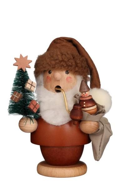 Räuchermännchen Weihnachtsmann, natur, 13 cm, Christian Ulbricht GmbH & Co KG Seiffen/ Erzgebirge