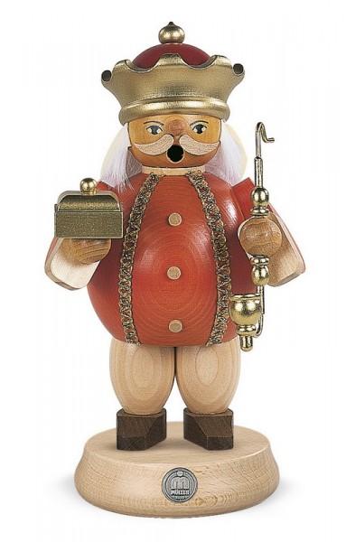 Räuchermann Melchior, 18 cm, Müller GmbH Kleinkunst aus dem Erzgebirge