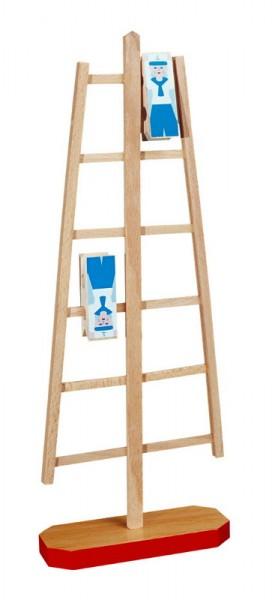 Die Klettermatrosen sind ein faszinierendes Holzspielzeug und ein lustiges Bewegungsspiel. Die beiden Matrosen werden auf die oberste Sprosse aufgesetzt und …