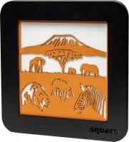 Vorschau: Weigla LED Wandbild Square Africa, 29 cm_Bild2