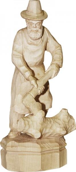 Holzfäller, geschnitzt in verschiedenen Größen von Schnitzkunst aus dem Erzgebirge_Bild1
