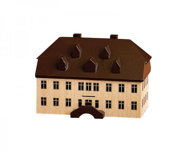 Alte Schule in Seiffen, 5,5 cm, Spielwarenmacher Günther Seiffen/ Erzgebirge