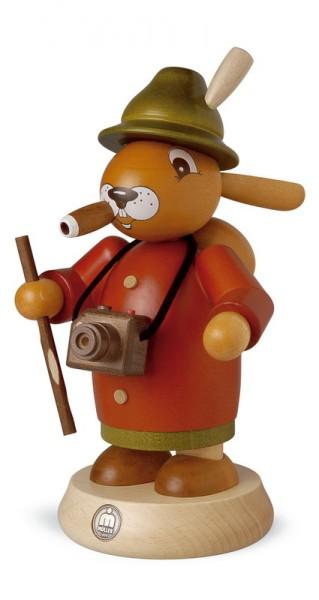 Räuchermännchen von Müller Kleinkunst Osterhase Tourist aus Holz