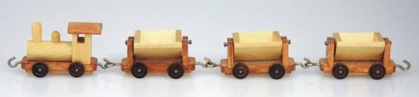 Grubenbahn aus Holz, natur von Stephan Kaden