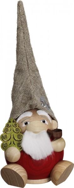 Das KugelräuchermännchenZwerg Weihnachtsmannvon Seiffener Volkskunst eGSeiffen/ Erzgebirge. Dieser Räuchermann gehört zur Serie …