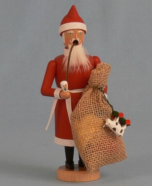 Räuchermännchen Weihnachtsmann mit Sack, 21 cm von Räuchermann Manufaktur Merten aus Seiffen/ Erzgebirge. Höhe: ca. 21 cm Material: heimische Hölzer aus dem …