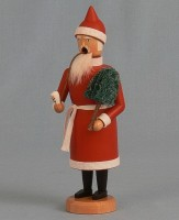 Vorschau: Räuchermännchen Weihnachtsmann, 21 cm von Räuchermann Manufaktur Merten aus Seiffen/ Erzgebirge.Höhe: ca. 21 cmMaterial: heimische Hölzer aus dem Erzgebirge, …