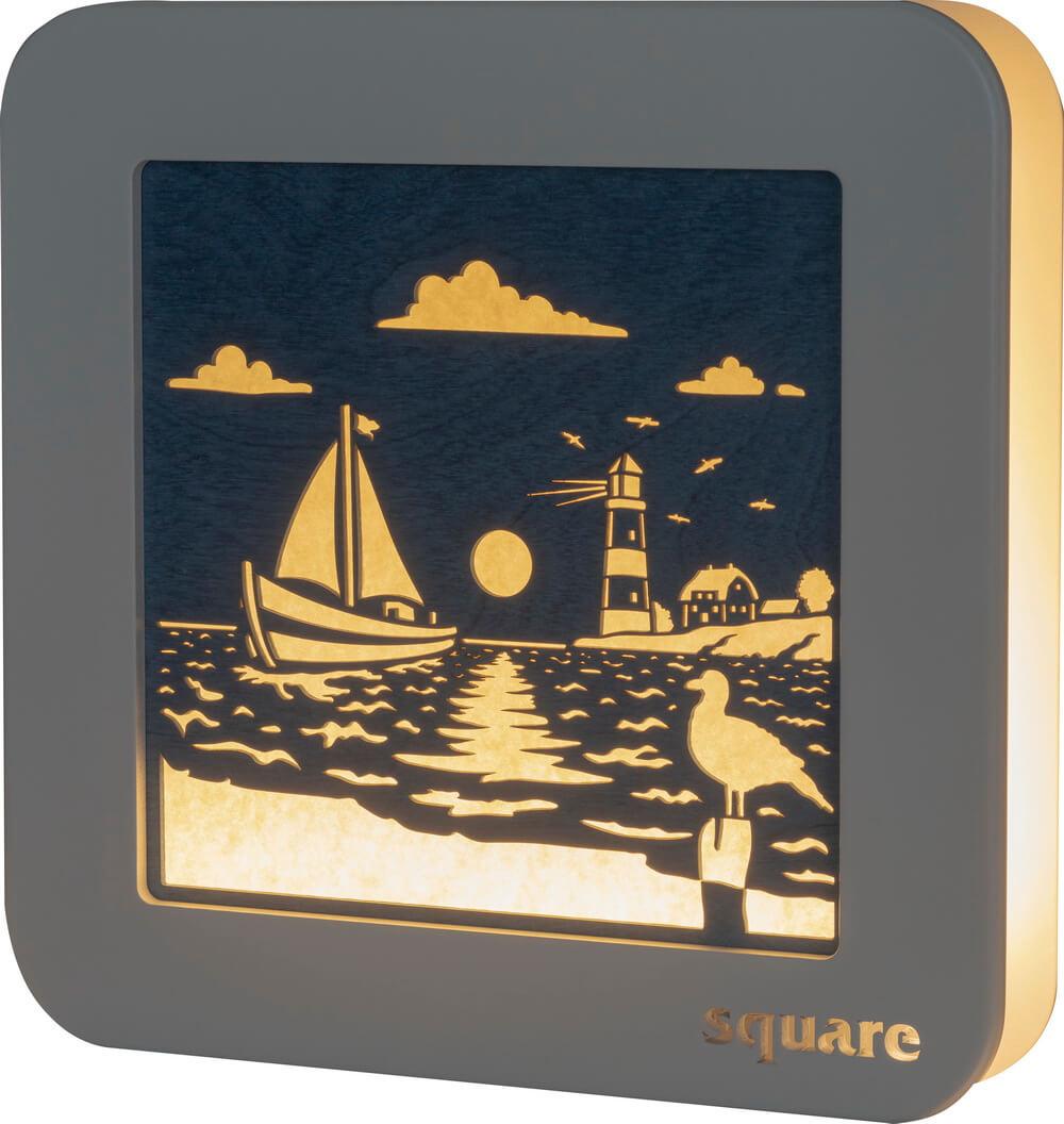 Weigla LED Wandbild Square Maritim, 29 cm_Bild1