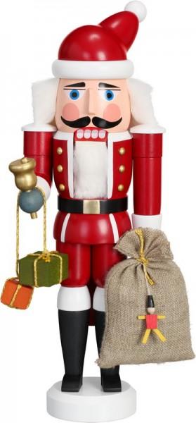 Nussknacker Weihnachtsmann, 28 cm von Seiffener Volkskunst eG