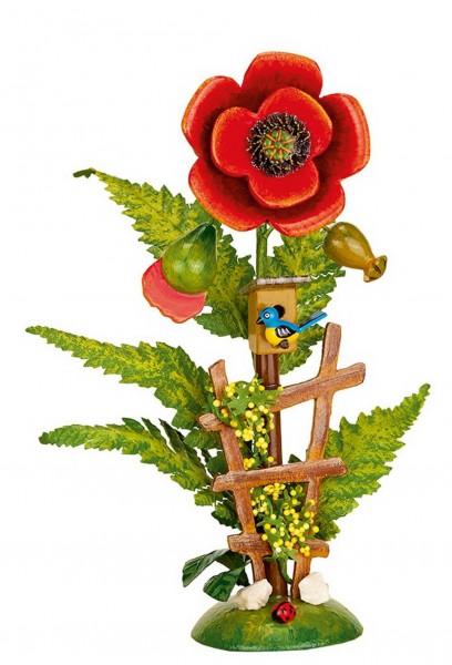 Blumeninsel aus Holz von Hubrig Volkskunst