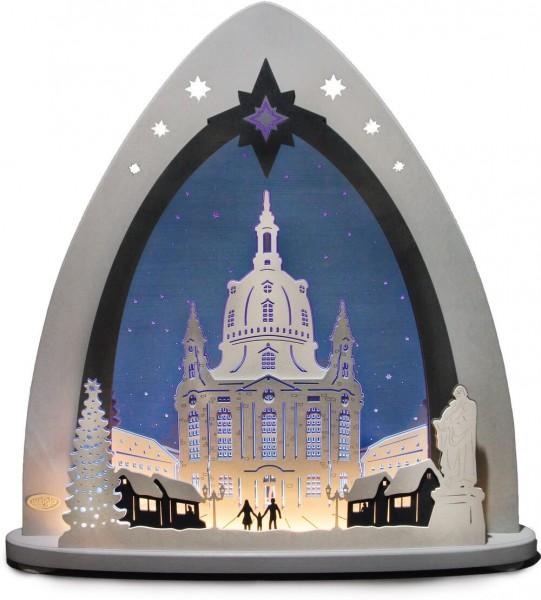Weigla LED Schwibbogen & Lichterspitze Frauenkirche