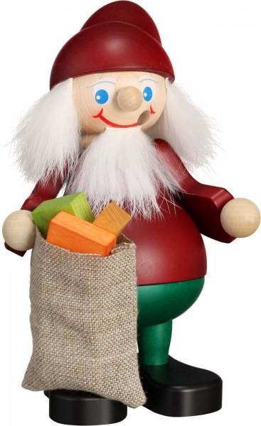 Räuchermann Weihnachtsheinzel mit Sack, 15 cm, Seiffener Volkskunst eG Seiffen/ Erzgebirge Der Räuchermann, auchRäuchermännchen,oder auf …