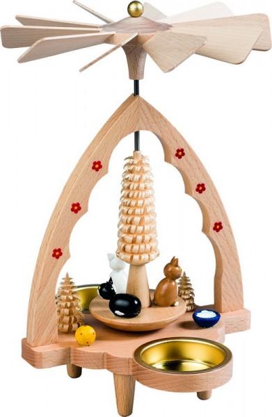 weihnachtspyramide teelichtpyramide katzen 20 cm hoch. Black Bedroom Furniture Sets. Home Design Ideas