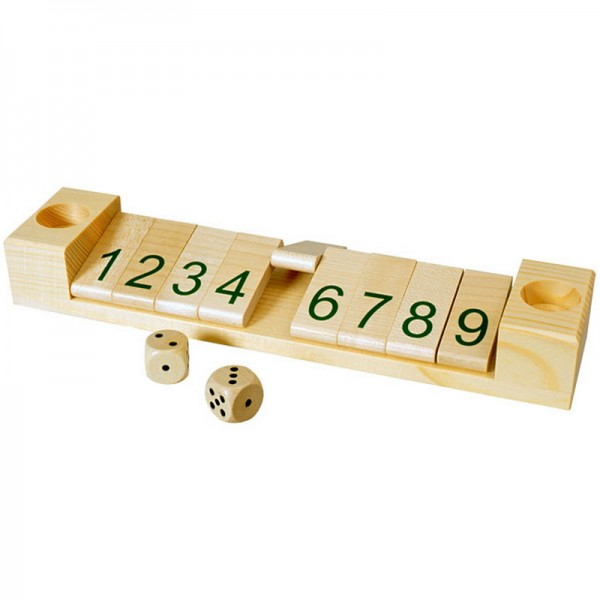 Mit dem Additionsspiel wird das Addieren und Zerlegen von Zahlen geübt. Es wird von mehreren Spielern gespielt. Man würfelt mit beiden Würfeln, addiert die …