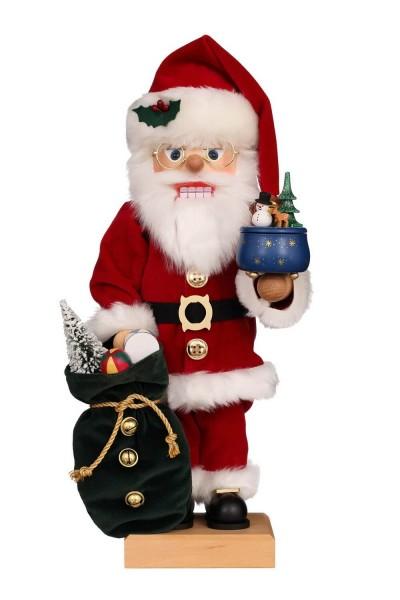 Nussknacker Weihnachtsmann mit Spieldose, 48 cm, Christian Ulbricht GmbH & Co KG Seiffen/ Erzgebirge