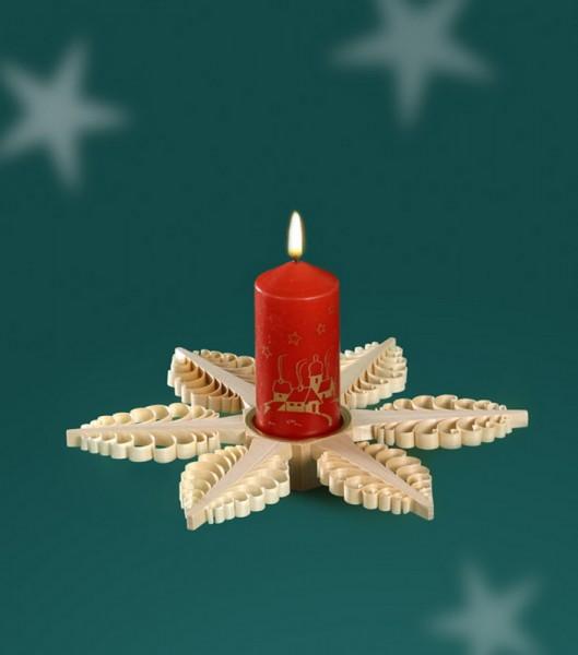 Weihnachtskerzenhalter für Kerzen von Martina Rudolph Seiffen/ Erzgebirge