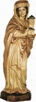 Vorschau: Heilige Barbara, geschnitzt in verschiedenen Größen von Schnitzkunst aus dem Erzgebirge