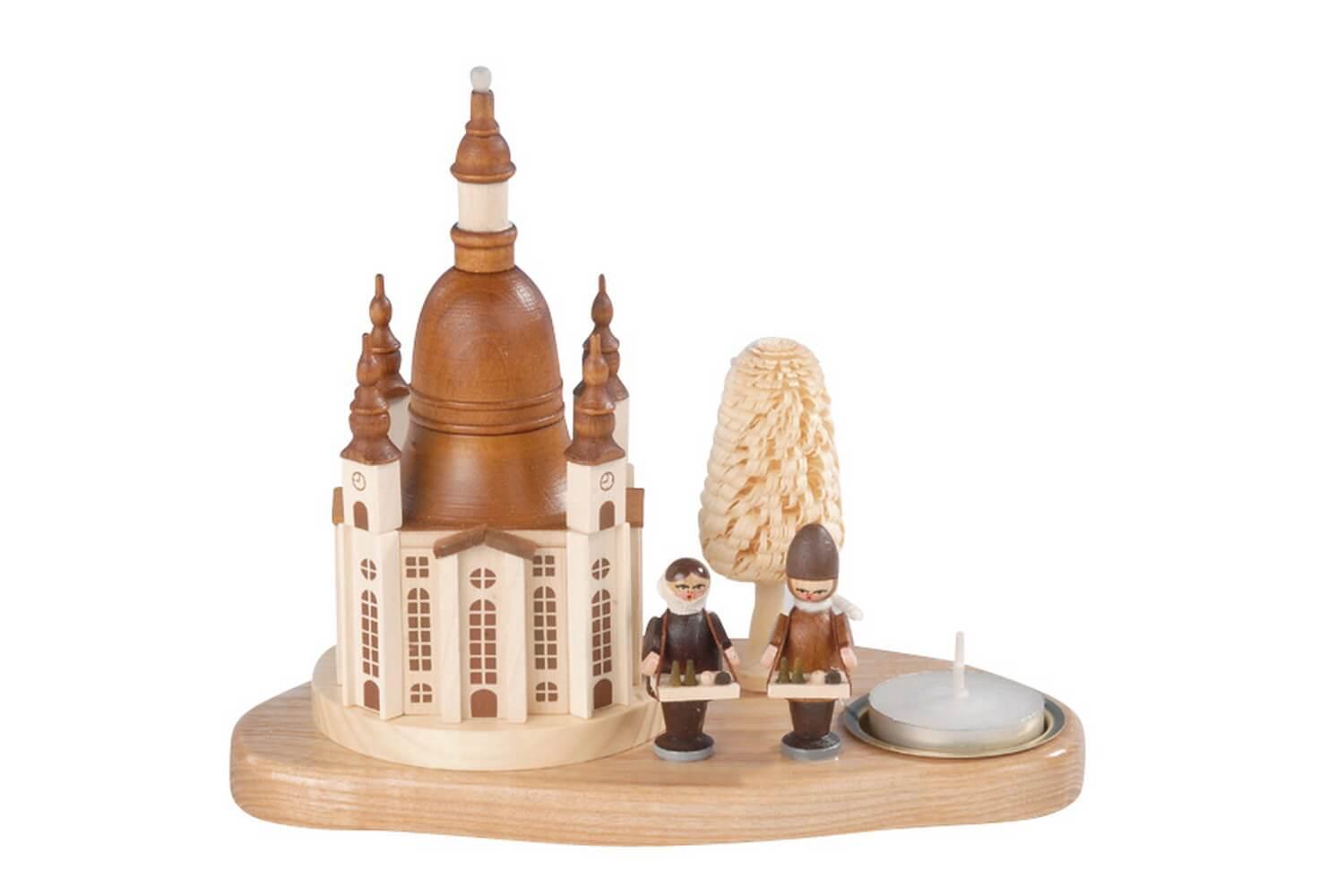 Knuth Neuber, Weihnachtskerzenhalter Frauenkirche mit Striezelkindern_Bild1