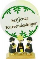 Vorschau: Weihnachtsfiguren Spanschachtel Kurrende, 7,5 cm, Richard Glässer GmbH Seiffen/ Erzgebirge