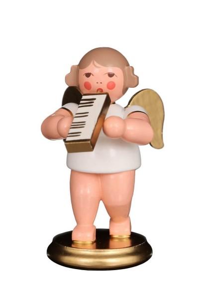 Weihnachtsengel - Musikengel mit Melodika, 6 cm von Christian Ulbricht GmbH & Co KG Seiffen/ Erzgebirge